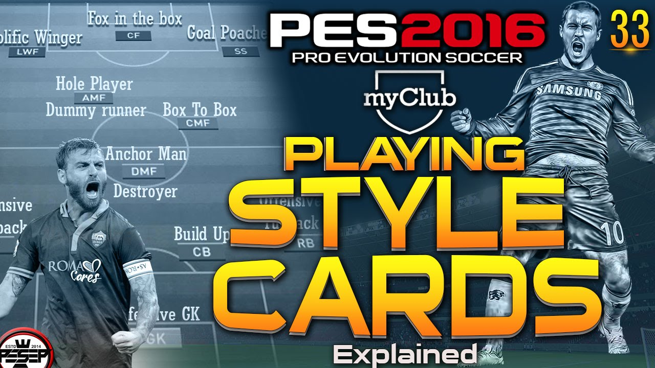 PES 2016 myClub | Players