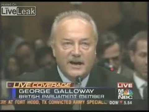 U.S. Senate owned by George Galloway