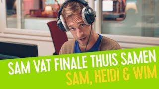 Sam vat de seizoensfinale van Thuis samen | Sam, Heidi & Wim