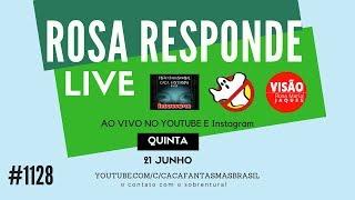 ROSA RESPONDE Caça Fantasmas Brasil #1128