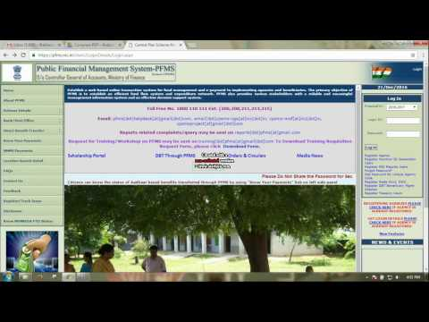 How to check UGC RGNF/MANF fellowship payments in PFMS interface
