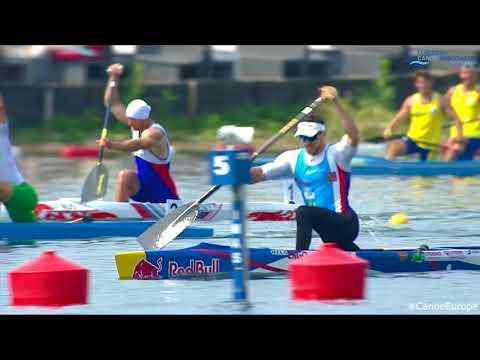 2018 ECA Canoe Sprint & Paracanoe European Championships - Saturday - Final