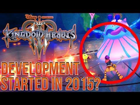 Kingdom Hearts 3 Monster Inc Leak Update - Development Started in 2015?