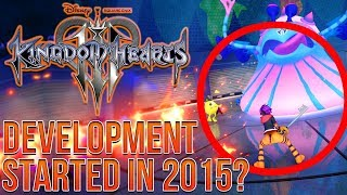 Kingdom Hearts 3 Monster Inc Leak Update - Development Started in 2015?