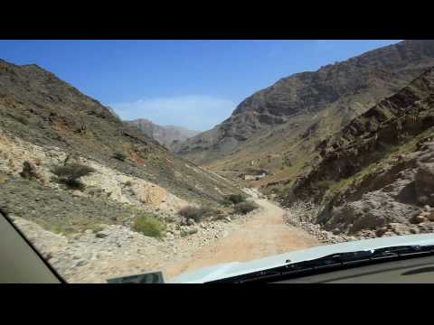 Oman off road with Luke - Le Robot
