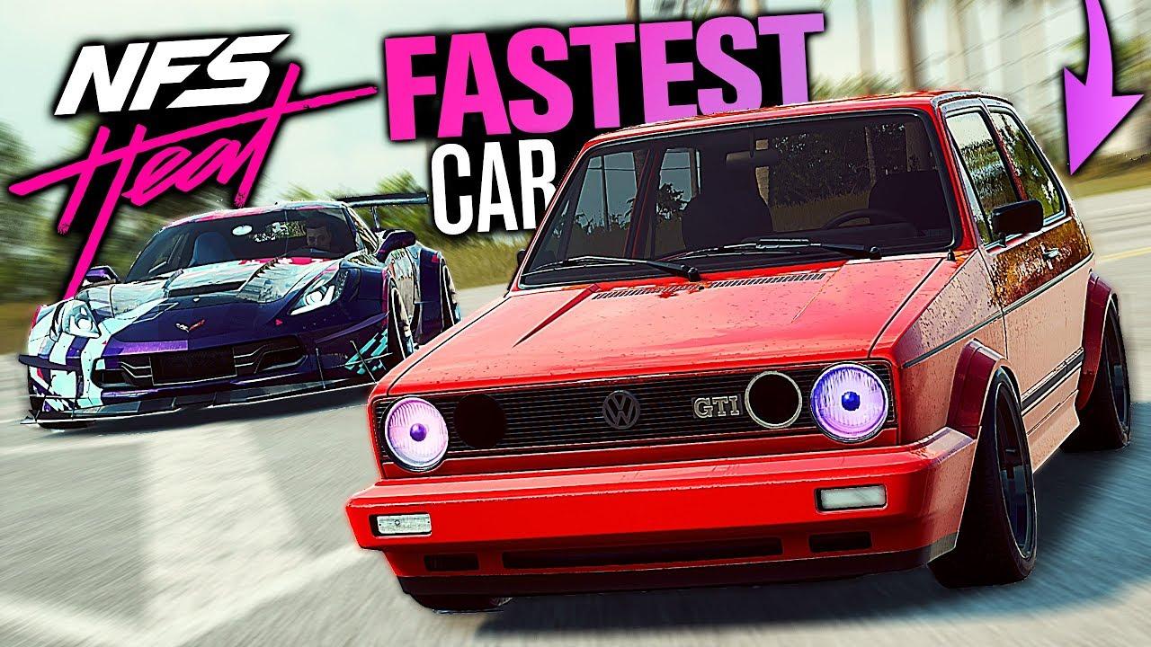 Need for Speed HEAT - FASTEST Car??? (Porsche Engine Swap)