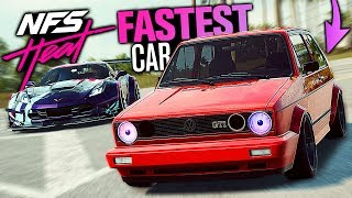 Need for Speed HEAT - FASTEST Car??? (Porsche Engine Swap)