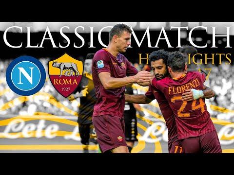 Napoli 1-3 Roma   CLASSIC MATCH HIGHLIGHTS 2016-17