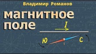 МАГНИТНОЕ ПОЛЕ физика 8 класс