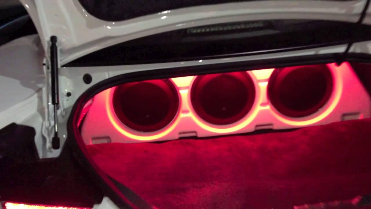 2013 Chevy Camaro Custom JL Stealth Box, Audison Bit 10 ...