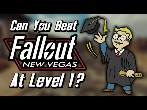 Can You Beat Fallout New Vegas At Level 1?