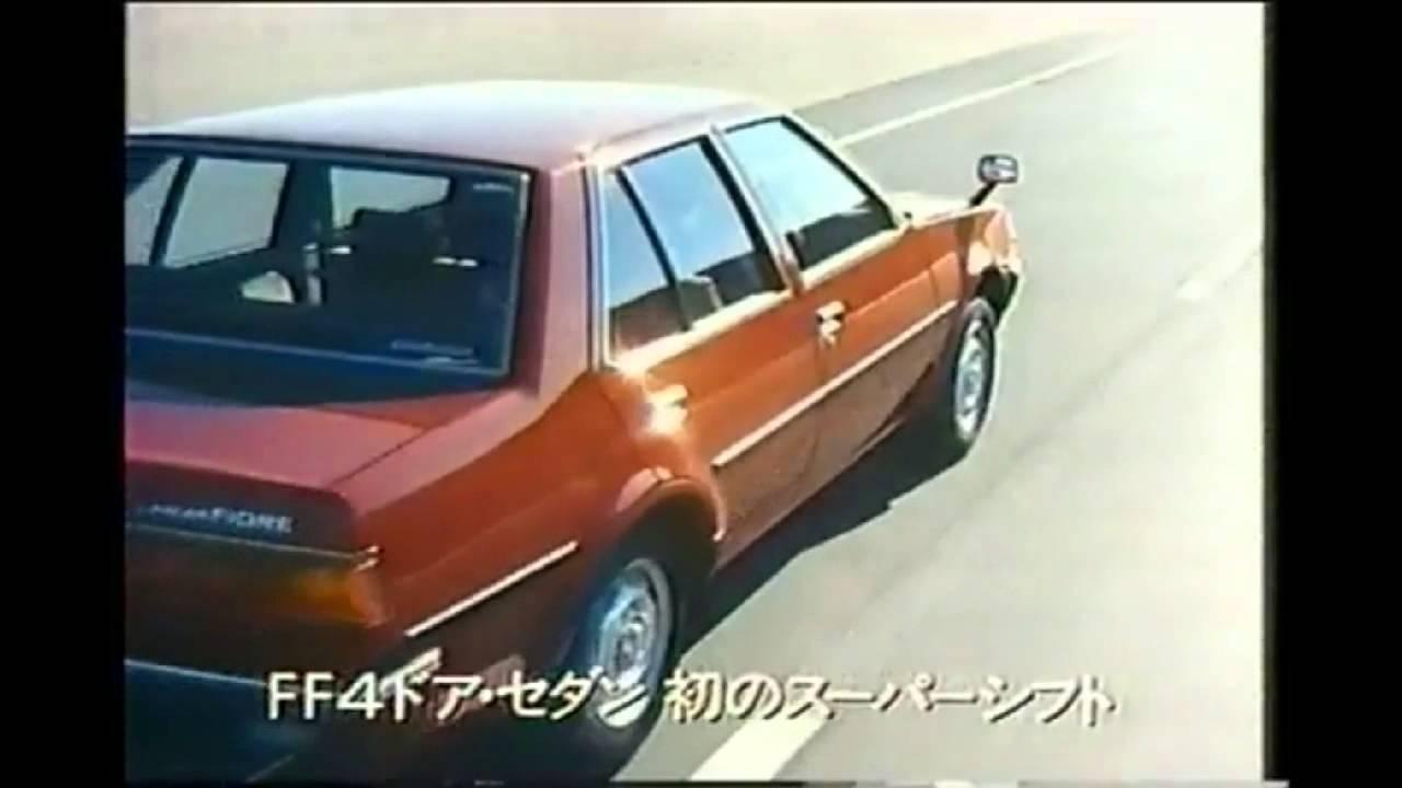 1983 Mitsubishi Lancer Fiore Japan Ad 1 Youtube