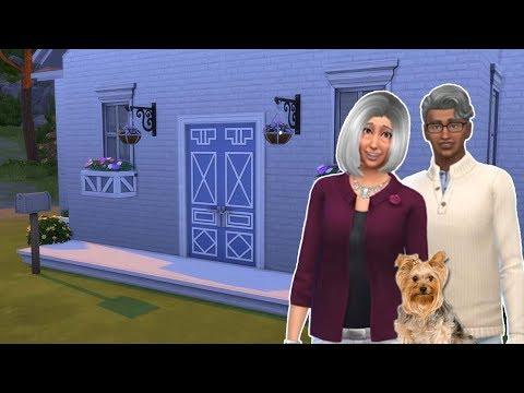 PAPY, MAMIE ET LEUR YORKSHIRE ! Préparation Let's Play Sims 4 Animaux