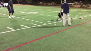 6u falcons hit squad hit run drills 09 22