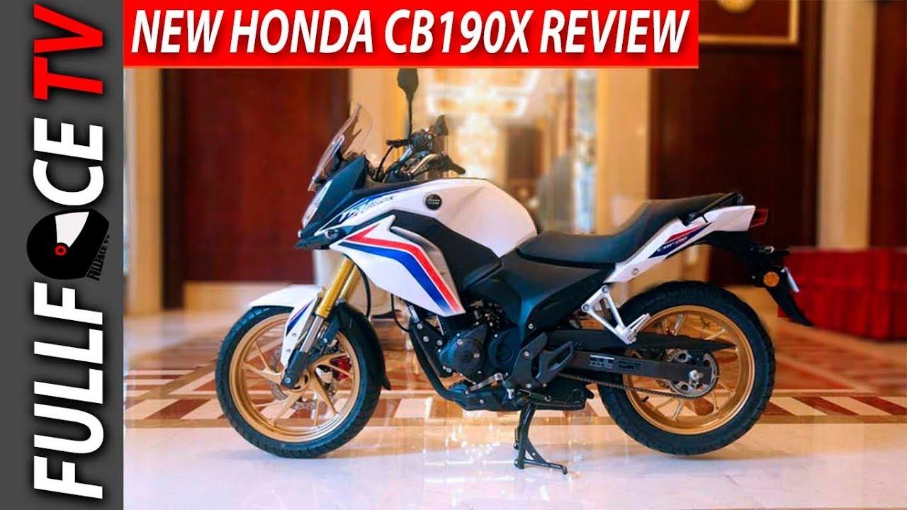2017 Honda CBF190X Spec and Review