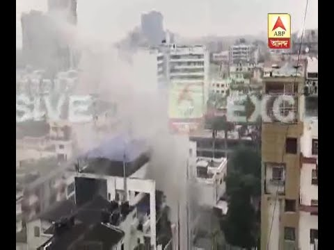 Major fire breaks out at Pretoria Street in a office, 10 Fire Brigades in the Spot: Watch