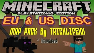 Minecraft Ps Map Packs - Minecraft ps3 us disc maps