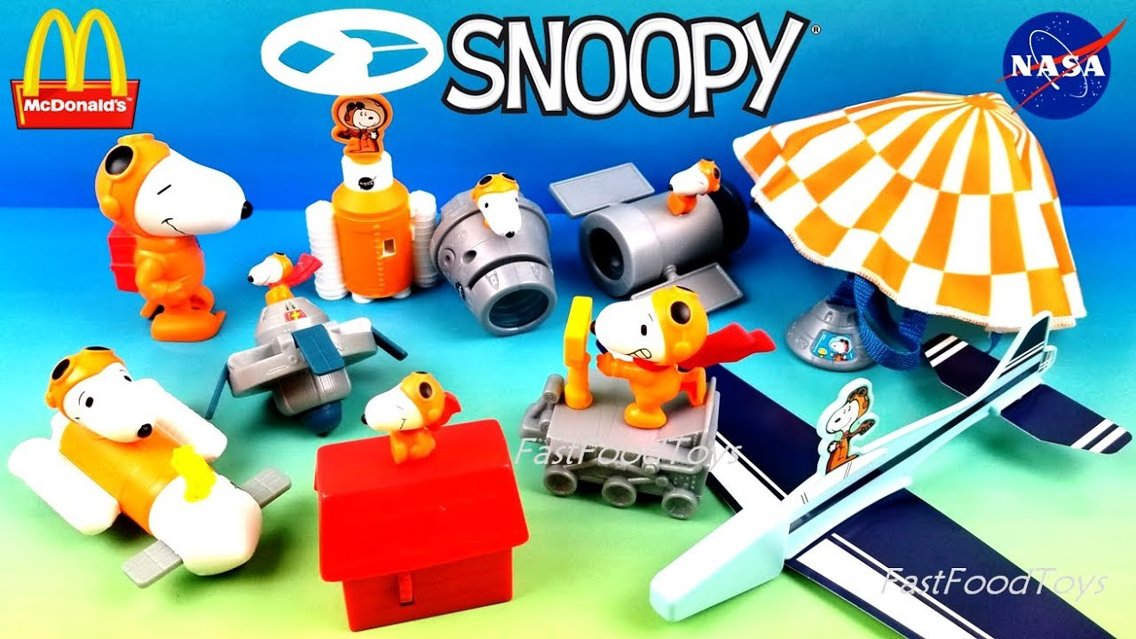 Snoopy Dance Mover Toy Peanuts with NASA