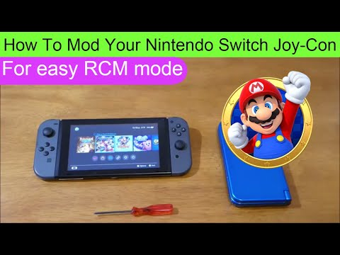 How To Mod Your Nintendo Switch Joy-Con for easy boot into RCM mode DIY / HACK