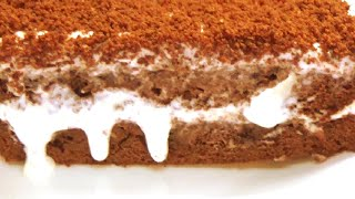 Торт шоколадный сметанник настолько вкусный простой и быстрый Пеку его каждый выходной