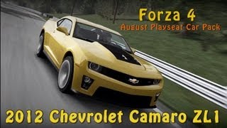 Forza 4 2012 Chevrolet Camaro ZL1 - August Playseat Car Pack