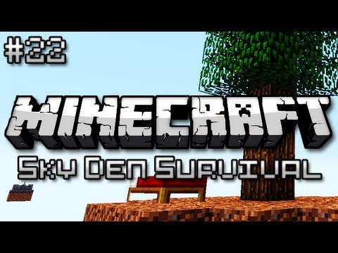 Minecraft: Sky Den Survival Ep. 22 - WE NEED TO COOK
