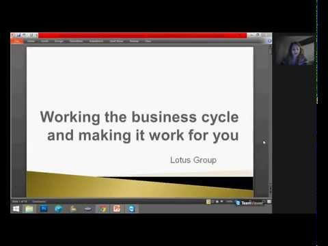 Working the business cycle and making it work for you