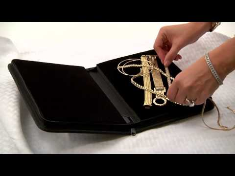 Gentle Jewelry Case the perfect solution for travel with jewelry