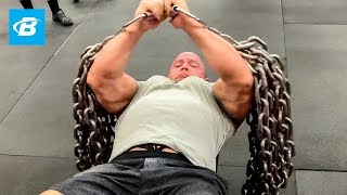 Build a Bigger Bench w/ Chain Flys & Chain Presses | Mark Bell