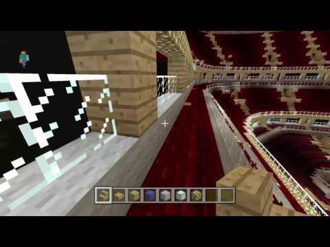 Minecraft: Chicago Blachawks United center tour