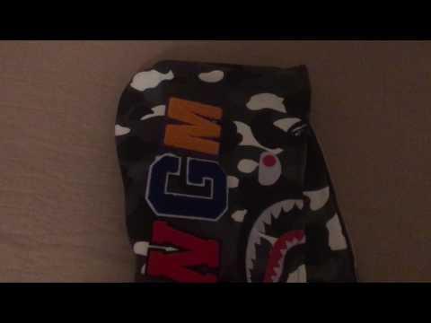 Bape shark hoodie - city camo (Replica from Amazon)