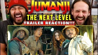 JUMANJI: THE NEXT LEVEL | TRAILER - REACTION!!! (Jumanji 3)