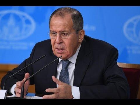 Пресс-конференция Сергея Лаврова.