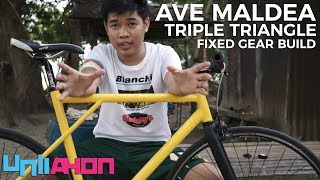 Usapang Fixed Gear - Ave Maldea Triple Triangle Fixie