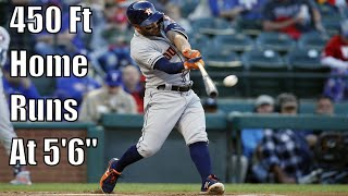 Jose Altuve Being Unbelievably Powerful