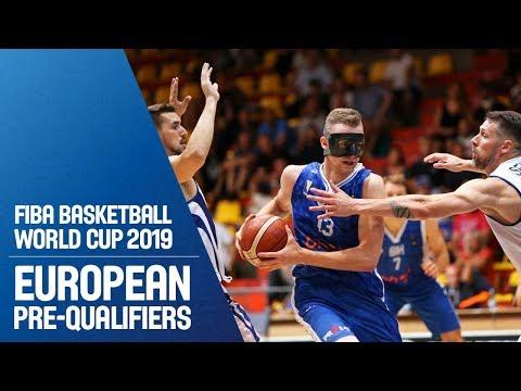 Slovak Republic v Bosnia and Herzegovina - Full Game - FIBA World Cup 2019 - European Pre-Qualifiers