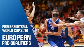 Slovak Republic v Bosnia and Herzegovina - Full Game - FIBA World Cup 2019 - European Pre-Qualifiers