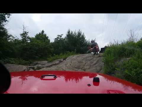 Ontario offroading, Minden hydroline trail (jeep4×4) with COORJC, june 18 2017