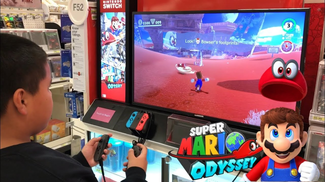 8ebb989e55 Super Mario Odyssey at Target! - YouTube