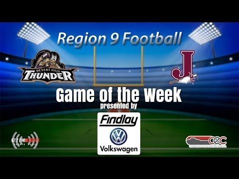 Region 9 Football Desert Hills vs Jordan