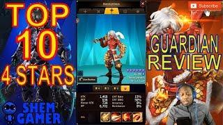Top 10 Best 4 Star Guardians - Chain Strike