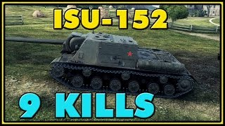 World of Tanks | ISU-152 - 9 Kills - 8K Damage