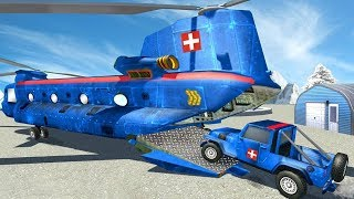 Flying US Police Helicopter Rescue (by Kablam Gaming Studios) Android Gameplay [HD]