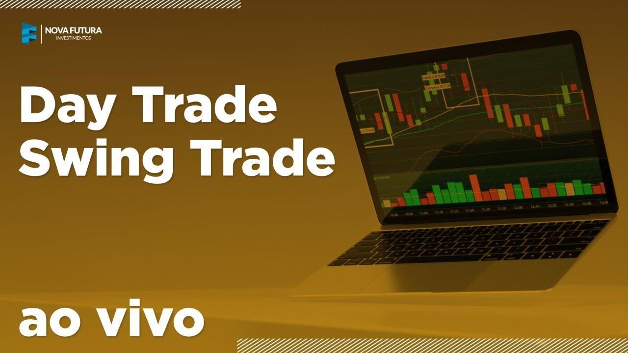 Day Trade e Swing Trade AO VIVO - Mini Dólar, Mini Índice e Ações – Nova Futura 10/07/2020