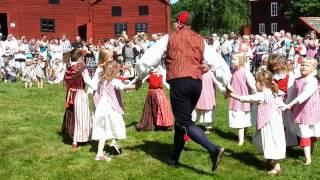 Midsommar Forsa Forngård Fränö Hälsingland