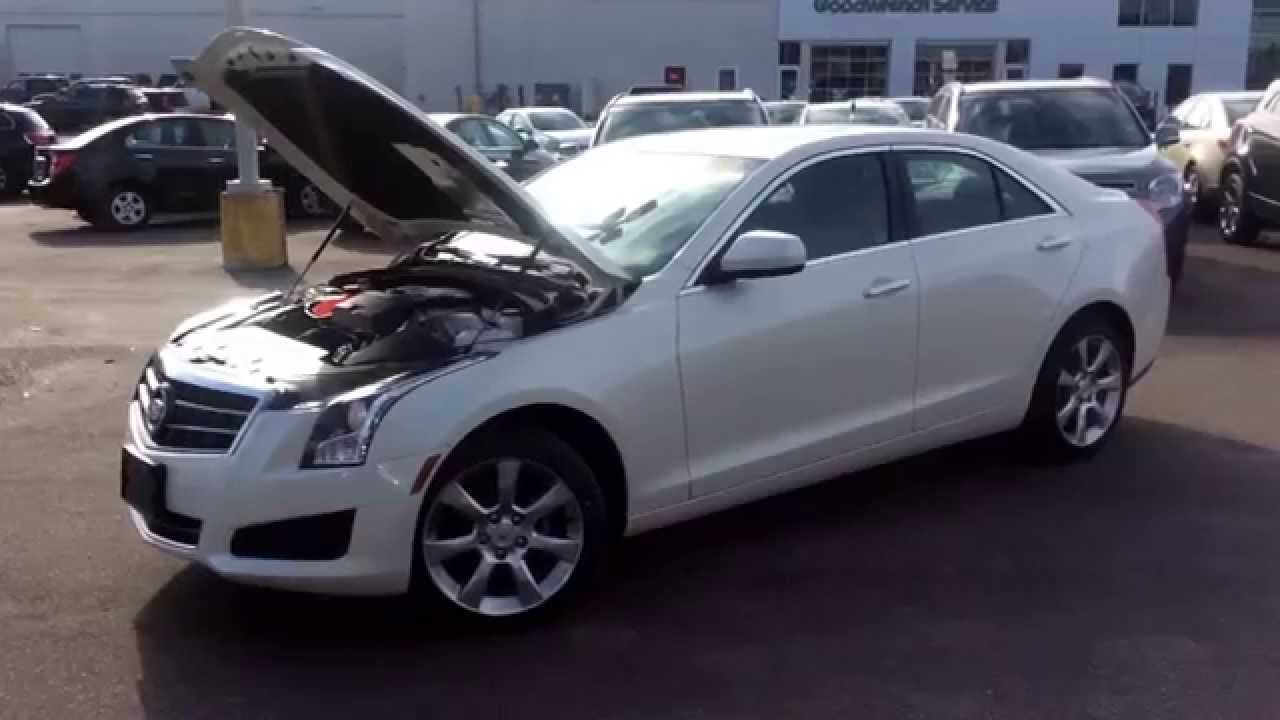 2014 cadillac ats 2 0l turbo awd review 140351 youtube. Black Bedroom Furniture Sets. Home Design Ideas