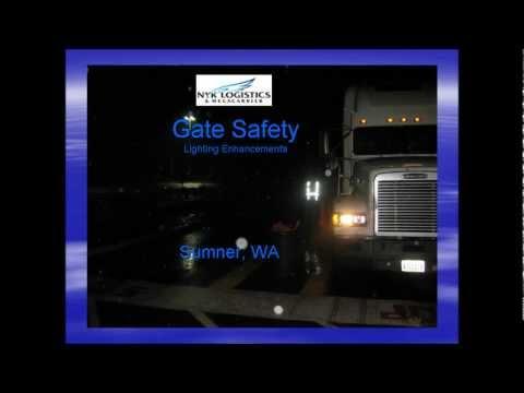 Gate Safety NYK-YUSEN Logistics.wmv