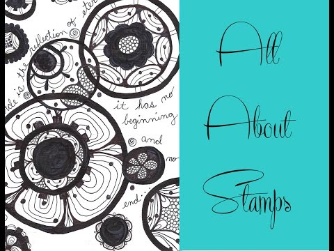 Easy Homemade Lace Stamps