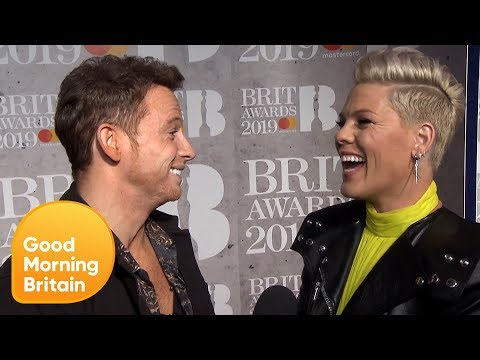 Behind the Scenes of the Brits Red Carpet 2019 With Joe Swash | Good Morning Britain