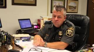 Wicomico County Sheriff Speaks on War on Law Enforcement